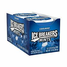 Ice Breakers Cool Mint Mints, 1.5-Ounce Puck (pack of 8)