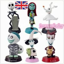 NEW Nightmare Before Christmas Jack and Zero Figure Lovely Gift For Xmas 6PCS