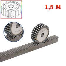1.5Mod 18T Metal Spur Gear Pinion Gear 45# Steel Motor Gear 1.5M18T Bore 5-12mm