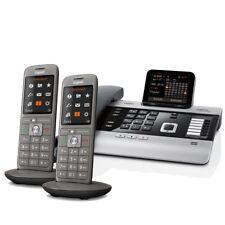 Gigaset DX800A Voice over IP- / ISDN-Mini-Telefonanlage mit 2x Mobilteil CL660HX