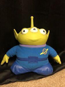"1995 Toy Story Disney Original Talking Alien Doll 12"" Thinkway Toys Working"