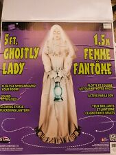 More details for 5ft ghostly lady, halloween prop