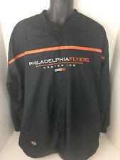 Philadelphia Flyers CCM Center Ice Windbreaker Pullover Large