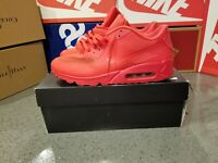 DS NIKE 2011 SAMPLE AIR MAX 90 HYPERFUSE PURE PLATINUM