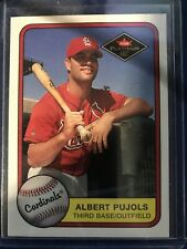 Albert Pujols 2001 Fleer Platinum Rookie Card #521