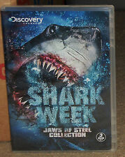 Shark Week Jaws Of Steel Collection DVD 3-Disc Set