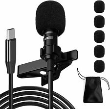 Professional Lavalier Microphone for Type CPhone MicrophoneUSB C Microphone