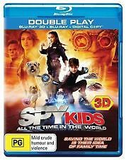 SPY KIDS 4: ALL THE TIME IN THE WORLD - BRAND NEW & SEALED 3D BLU RAY + DIGITAL