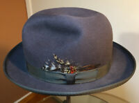 Men's Wool Hat Vintage Morfelt Fedora