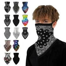 Bandana Paisley Face Mask Bikers Head Wrap Cotton Scarf Neck Cover Camouflage AU