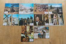 7 PHOTOS D'EXPLOITATION : UN NOMMÉ SLEDGE de VIC MORROW - JAMES GARNER