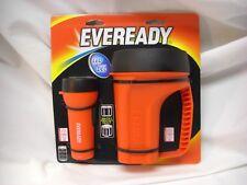 New! Eveready 2 pack Combo LED FlashlightLantern set
