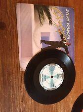 """Stevie Wonder - Overjoyed 7"""" vinyl single"""