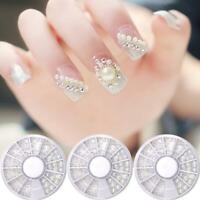 Size Manicure Tools Pearls Nail Art Decorations Nail Beads 3D Nail Rhinestones