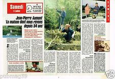 Coupure de presse Clipping 1988 (2 pages) Jean Pierre Aumont