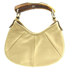 Saint Laurent Handbag Beige Woman Authentic Used T1277