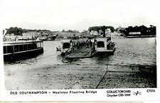 OLD SOUTHAMPTON -woolston floating bridge-RPPC-cw481