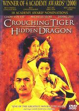 Mint! ~ Crouching Tiger, Hidden Dragon (Dvd, 2001, Widescreen) Chow Yun-Fat!