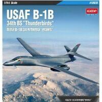 Sale Academy USAF B-1B 34th BS 1/144 Thunderbirds Plastic Model Kit 12620_igdz