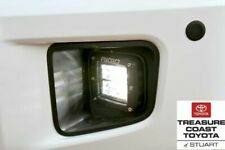 NEW OEM TOYOTA TUNDRA TRD PRO LED FOG LIGHTS & BEZEL RIGID INDUSTRIES SET OF 2