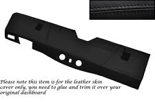 BLACK STITCH BOTTOM DASH DASHBOARD COVER FITS LAND ROVER DEFENDER 90 110 83-06