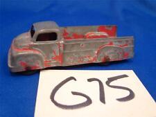 G75 Vintage Tootsietoy Diecast Red Truck