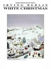 White Christmas Sheet Music Easy Piano NEW  000005301