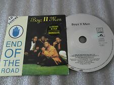 CD-BOYZ II MEN-END OF THE ROAD-FILM BOOMERANG-POP EDIT-(CD SINGLE)-1992-2TRACK