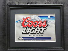 Coors Light Beer Sign #624