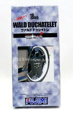 SET DE 4 ROUES AVEC PNEUS 18 POUCE WALD DUCHATELET  N°45 - 1/24  - FUJIMI