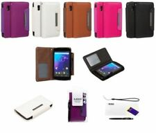 Googles Leather Mobile Phone Wallet Cases