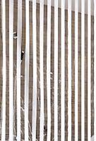 KLEINE WOLKE Austauschrollo 128x240cm für Dusch-u.Eck-Duschrollo»Streifen, weiß«