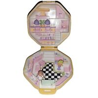 Vintage Polly Pocket Hairdressing Salon Compact *Complete* Bluebird 1990 Classic