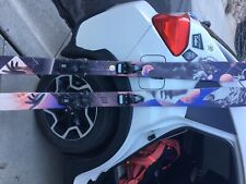 Moment women's Hot Mess skis 162 cm length with Look bindings