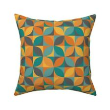 Retro Textiles Home Decoration Throw Pillow Cover w Optional Insert by Roostery