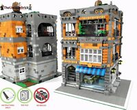 LEGO MOC Modular Patisserie - CUSTOM Model - PDF Instructions Manual