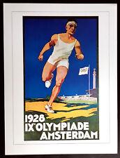 "IX Olympiade Poster 1928 AMSTERDAM - 12"" x 16"""