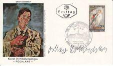 Oskar KOKOSCHKA (Artist): Signed First Day Cover Envelope
