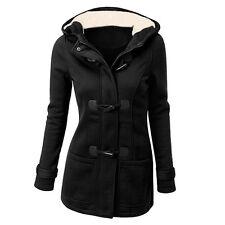 Women's Warm Coat Jacket Outwear Trench Winter Hooded Long Parka Overcoat Tops