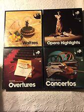 Vintage TIME LIFE Arthur Fieldler Favorites ~  Huge Lot in 8-Track 24 Box Sets