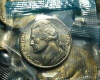 1974 P JEFFERSON Nickel 5C in OGP Mint Cello Uncirculated BU FIVE CENTS