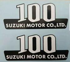 SUZUKI A100M 1975 SIDE PANEL DECAL KIT