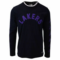 New Era Men's Los Angeles Lakers NBA Embroidered L/S T-Shirt