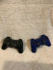Sony PlayStation DualShock 3 SixAxis Wireless Controller Metallic Blue & Black