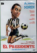 El presidente del Borgoroso F.C. (DVD Nuevo)