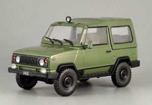 UAZ 3171 Russian SUV 1991 All-wheel Drive Green Car 1:43 Scale Diecast Model