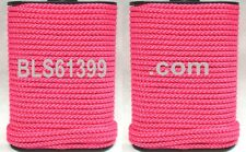 """Set of (2) Pink Braided 1/8"""" in x 45' ft Boat Marine Utility Line Tie-Down Rope"""