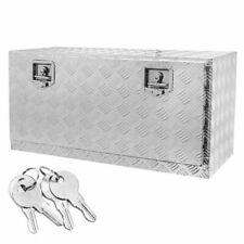 Truck Underbody Tool Box Trailer RV Tool Storage Under Bed w/Lock 36