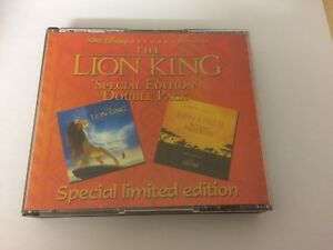 THE LION KING - SPECIAL EDITION DOUBLE PACK - SOUNDTRACK CD