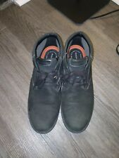 Rockport Shoes men casual leather boots men 10wide